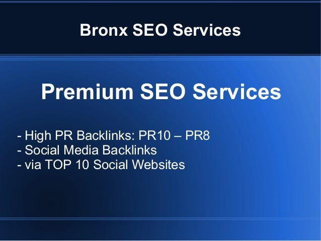 Bronx SEO Services Slide 3