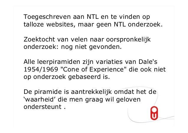 Toegeschreven aan NTL en te vinden optalloze websites, maar geen NTL onderzoek.Zoektocht van velen naar oorspronkelijkonde...