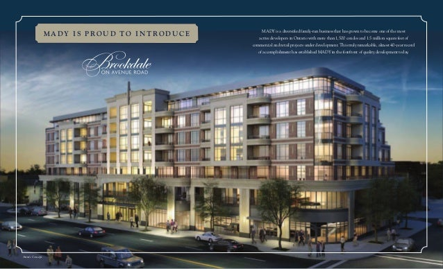 Brookdale On Avenue Road Condos By Mady Development