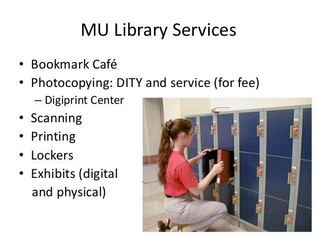 Mu Library Study Rooms
