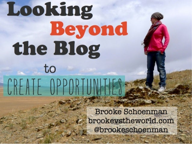 Looking Beyond The Blog to Create Opportunities - TBU Rotterdam