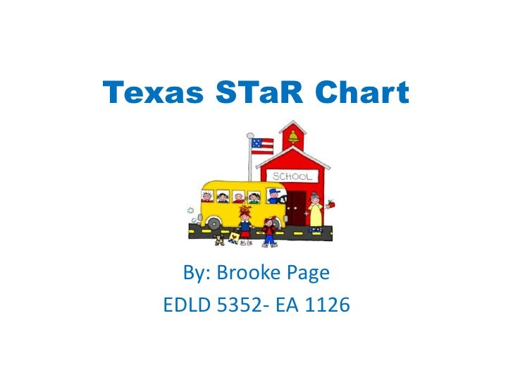 Texas STaR Chart<br />By: Brooke Page<br />EDLD 5352- EA 1126<br />