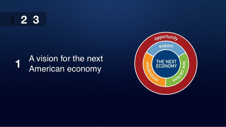 1 2 3     A vision for the next 1   American economy