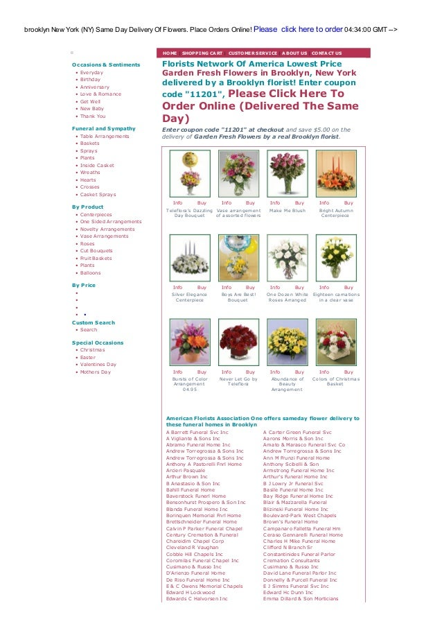 Brooklyn flower shops and florists wholesale rate