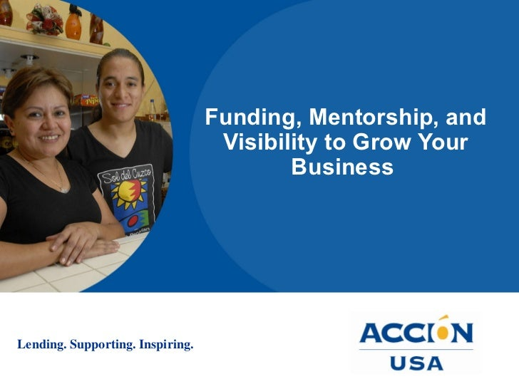 Funding, Mentorship, and Visibility to Grow Your Business