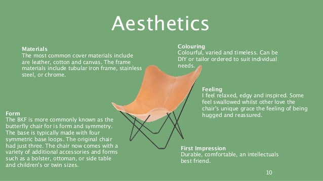 Butterfly chair bkf product analysis