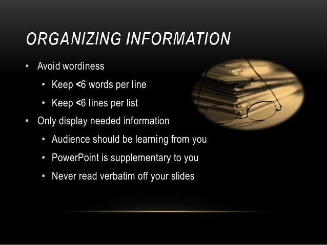how to make a effective powerpoint presentation
