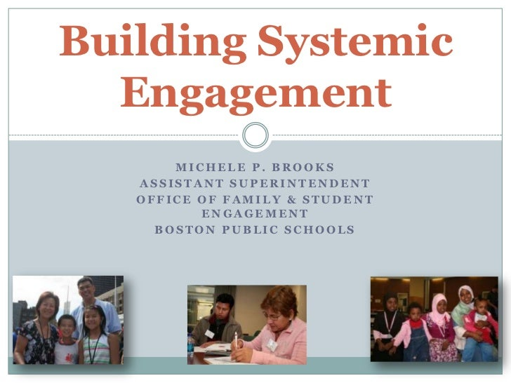 Michele P. Brooks <br />Assistant Superintendent<br />Office of Family & Student Engagement<br />Boston Public Schools<br ...
