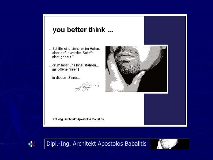 Dipl.-Ing. Architekt Apostolos Babalitis