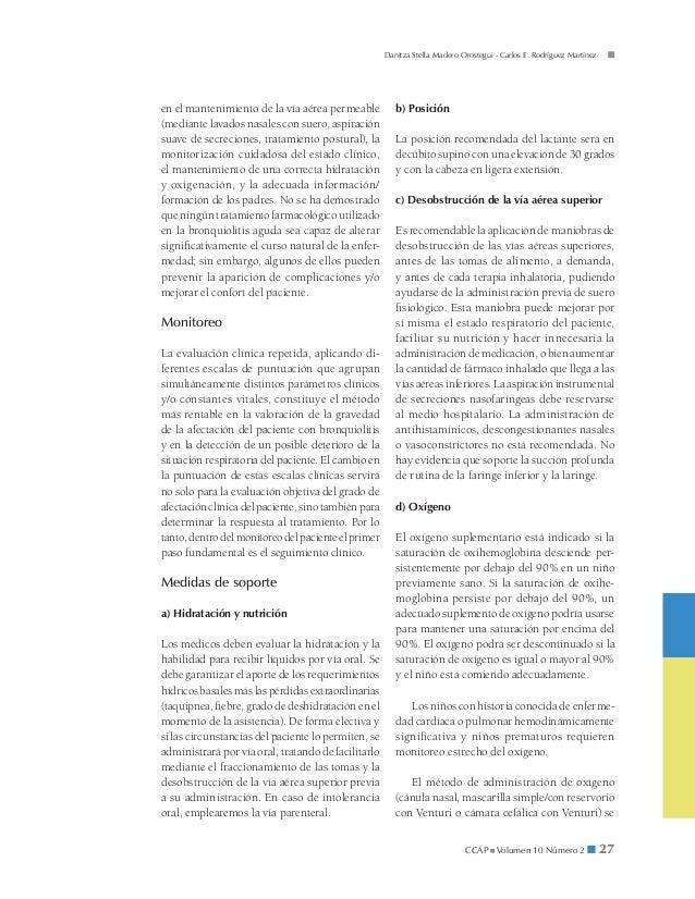 Danitza Stella Madero Orostegui - Carlos E. Rodríguez Martínezen el mantenimiento de la vía aérea permeable           b) P...
