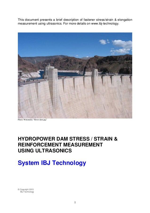 1 This document presents a brief description of fastener stress/strain & elongation measurement using ultrasonics. For mor...