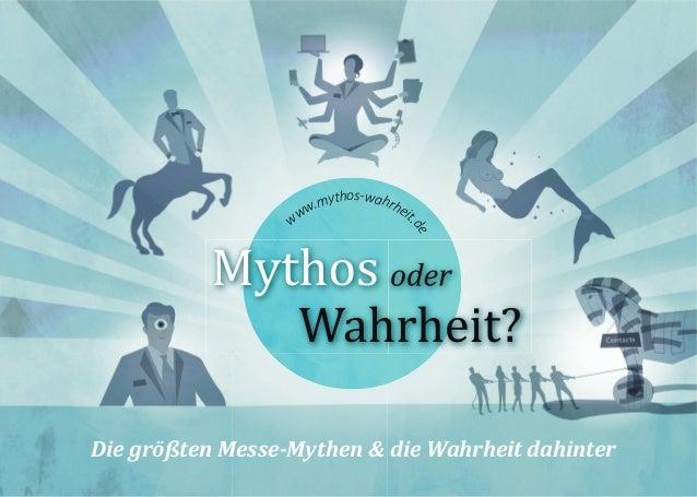 Die größten Messe-Mythen & die Wahrheit dahinter www.mythos-wahrheit. de
