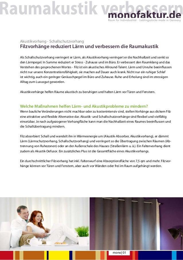 Raumakustik verbessern Akustikvorhang - Schallschutzvorhang  Filzvorhänge reduziert Lärm und verbessern die Raumakustik Al...