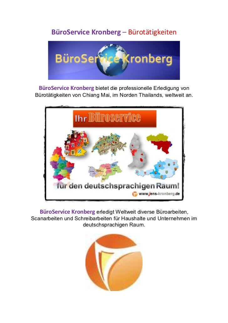 BüroService Kronberg – Bürotätigkeiten   BüroService Kronberg bietet die professionelle Erledigung von Bürotätigkeiten von...