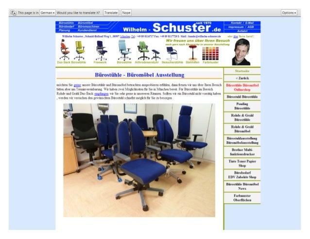 Bürostühle - Büromöbel Ausstellung