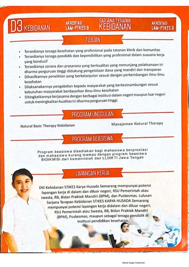 Brosur STIKES Karya Husada Semarang