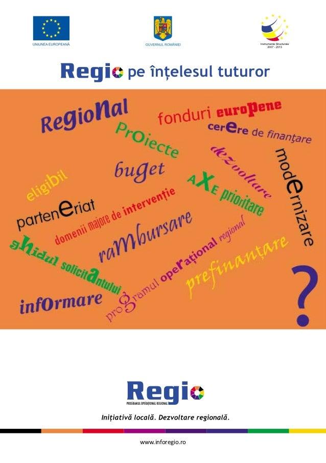 www.inforegio.rope înţelesul tuturor