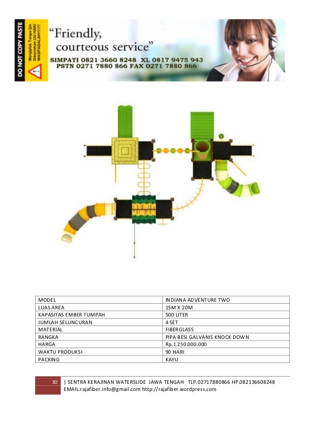 30 | SENTRA KERAJINAN WATERSLIDE JAWA TENGAH TLP.02717880866 HP.082136608248 EMAIL.rajafiber.info@gmail.com http://rajafib...