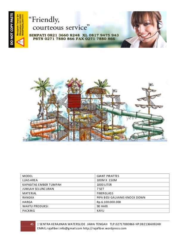 45 | SENTRA KERAJINAN WATERSLIDE JAWA TENGAH TLP.02717880866 HP.082136608248 EMAIL.rajafiber.info@gmail.com http://rajafib...