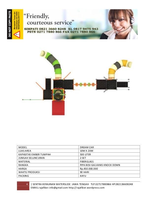 4 | SENTRA KERAJINAN WATERSLIDE JAWA TENGAH TLP.02717880866 HP.082136608248 EMAIL.rajafiber.info@gmail.com http://rajafibe...