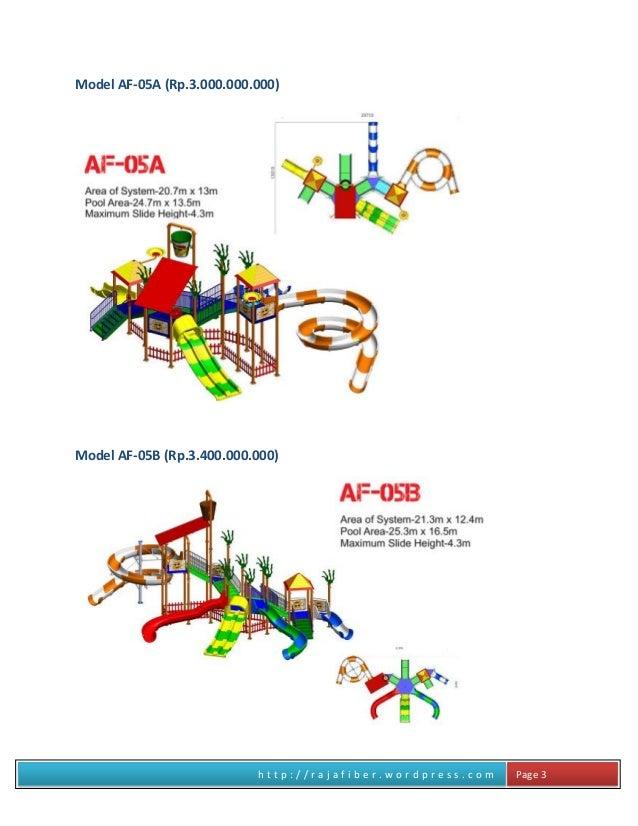 h t t p : / / r a j a f i b e r . w o r d p r e s s . c o m Page 3 Model AF-05A (Rp.3.000.000.000) Model AF-05B (Rp.3.400....