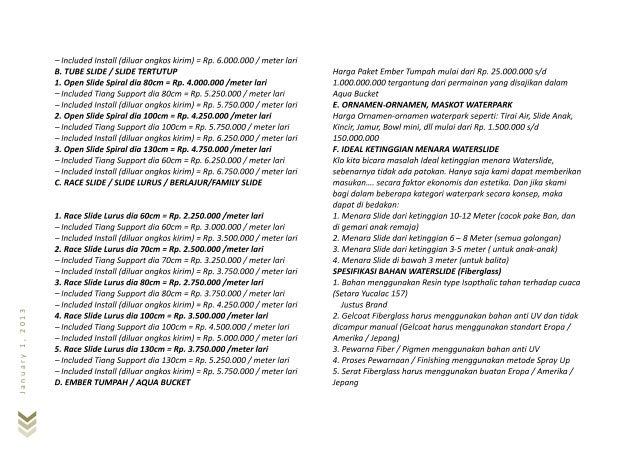 January1,2013 – – – – – – – – – – – – – – – – – - - - – - -