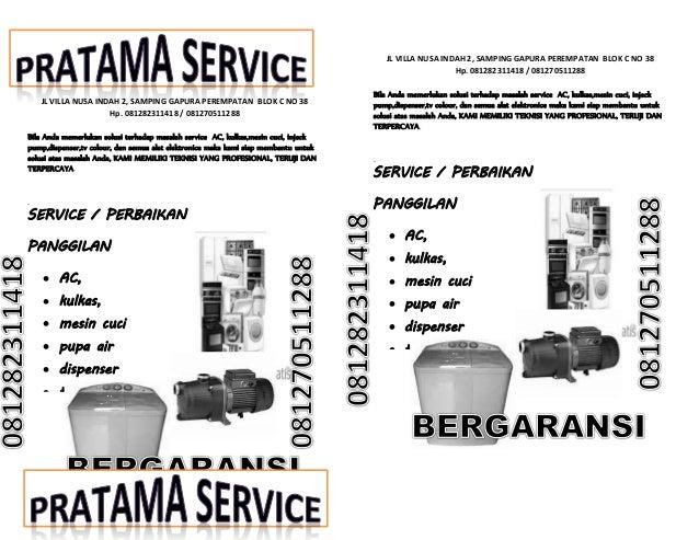 Brosur Pratama Service
