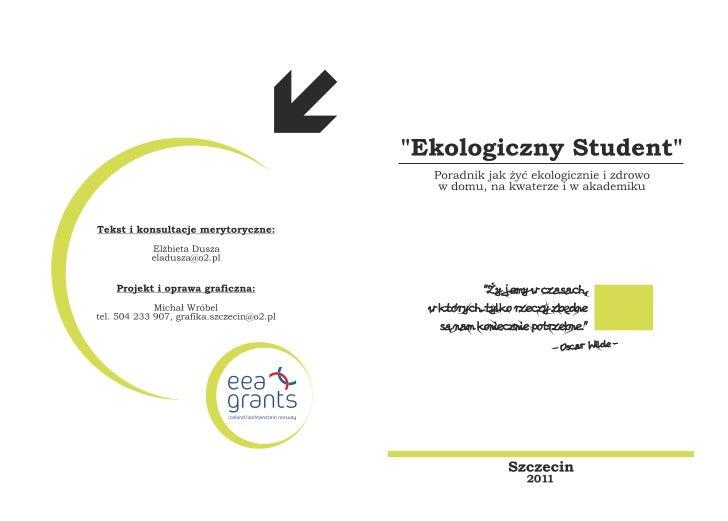 Broszura eko student Slide 3