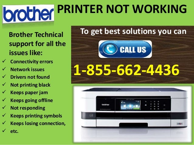 HELP- #Brother Printer Tech Problems #1-855-662-4436 Brother