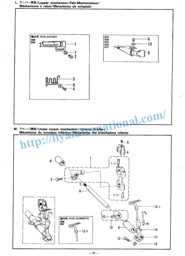 brother ps 53 sewing machine manual