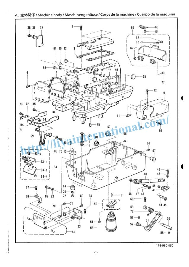 brother b980 eyelet button hole sewing machine book spare parts manual rh slideshare net Brother VX-1120 Sewing Machine Manual Brother Sewing Machine Troubleshooting