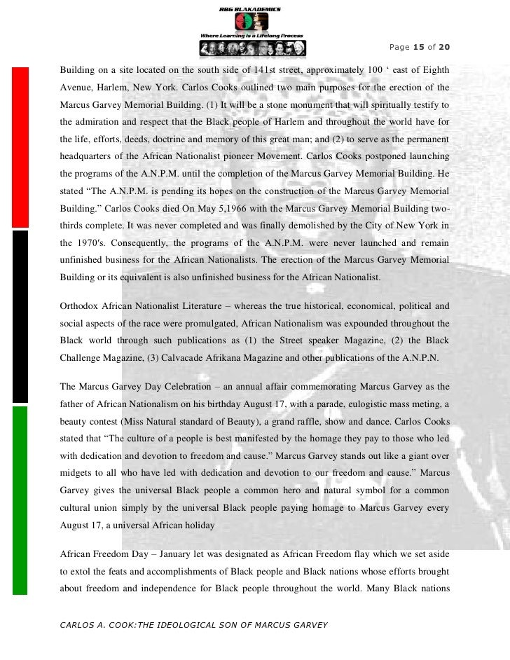 Modest Proposal Essay The Life Of Marcus Garvey Essay E Business Essay also How To Write An Essay Proposal Example The Life Of Marcus Garvey Essay Custom Paper Sample   Words  Thesis Statements For Essays