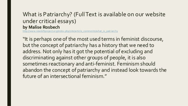 patriarchy essay morpheus x profile disqus americanscience feminist perspective essay from friedan forwardconsidering a feminist perspectivecombining letter writing