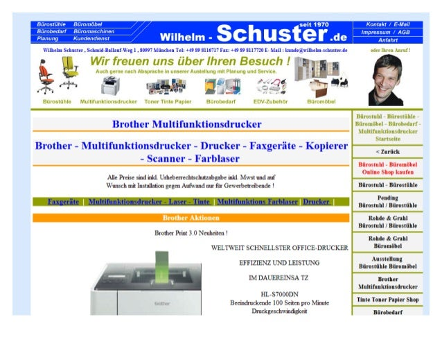 Brother Multifunktionsdrucker|bürostühle