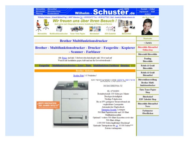 Brother multifunktionsdrucker