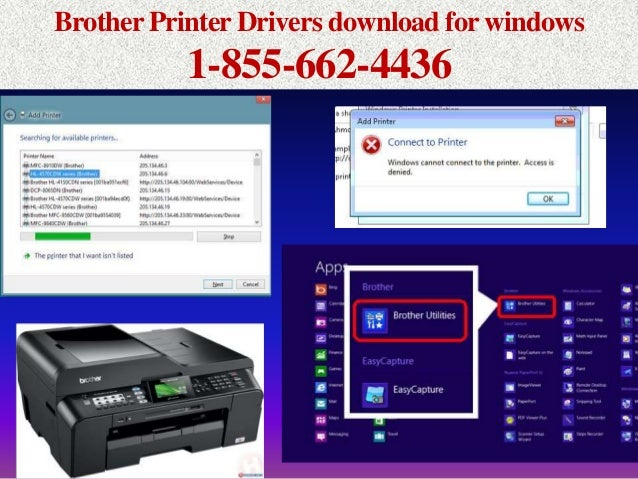 1~855~662~4436 Brother Printer Drivers~Printer Driver