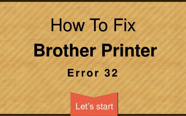 print unable