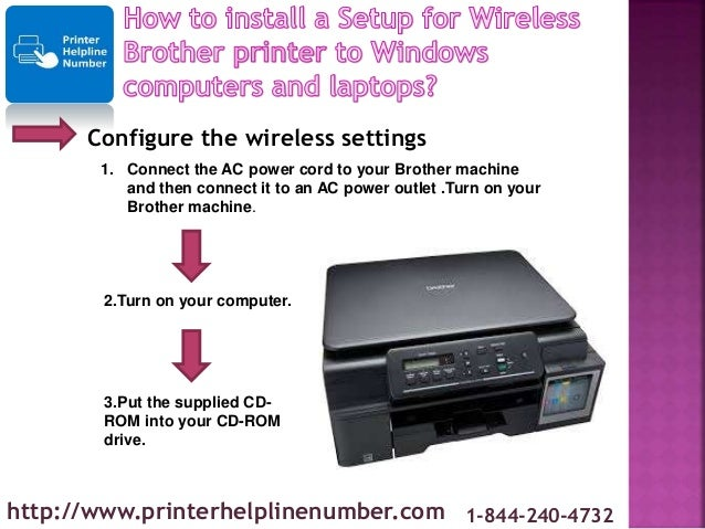 How to install a Setup for Wireless Brother printer to