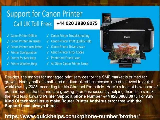 Brother Printer Customer Support +44 020 3880 8075 Phone Number