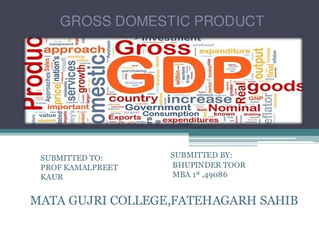 report on gross domestic product Econ 2020 chapter 7 study play  gross domestic product  gross domestic product (gdp) measures and reports output: in dollar amounts.