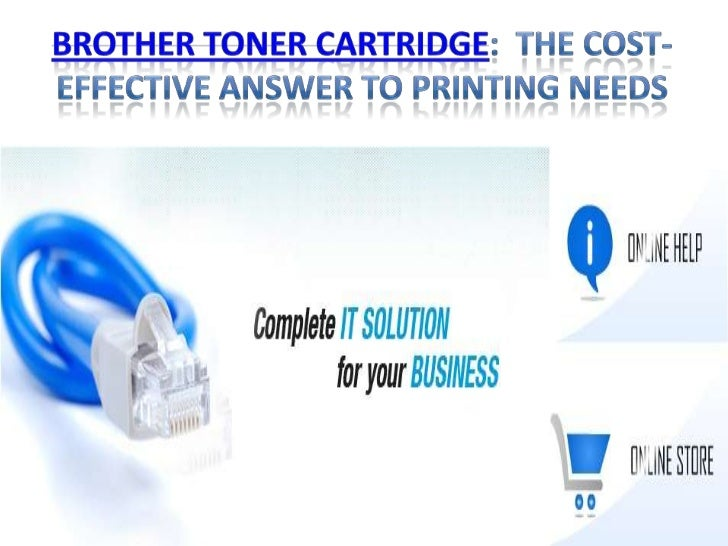 Brother Toner Cartridge: the cost-effective               answer to printing needsElectro-photographic technology has made...