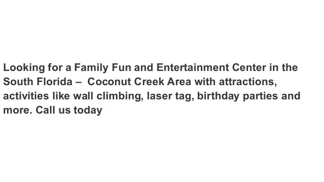 Indoor Party Places Broward County Indoor Entertainment For Kids