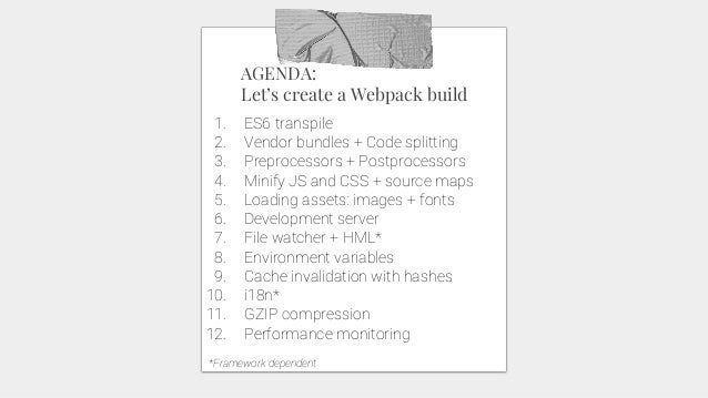 Front-end build tools - Webpack
