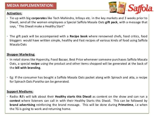 Saffola Oats Recipe Book