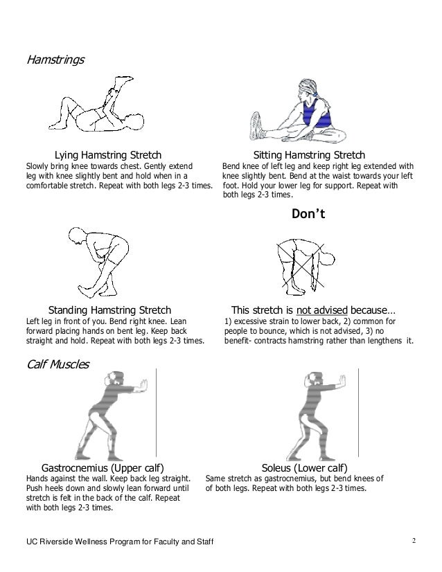Stretching Exercises For Lower Body