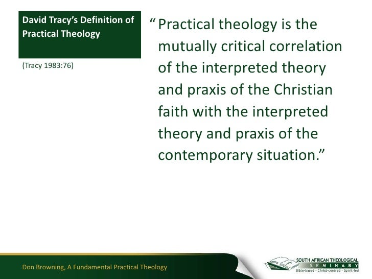 definition of practical theology pdf