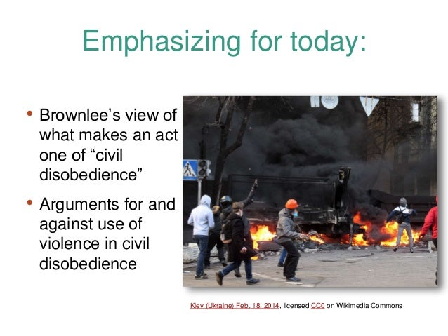 """an argument for civil disobedience This incident prompted thoreau to write his famous essay, """"civil disobedience"""" (originally published in 1849 as """"resistance to civil government"""") thoreau's minor act of defiance caused him to conclude that it was not enough to be simply against slavery and the war."""