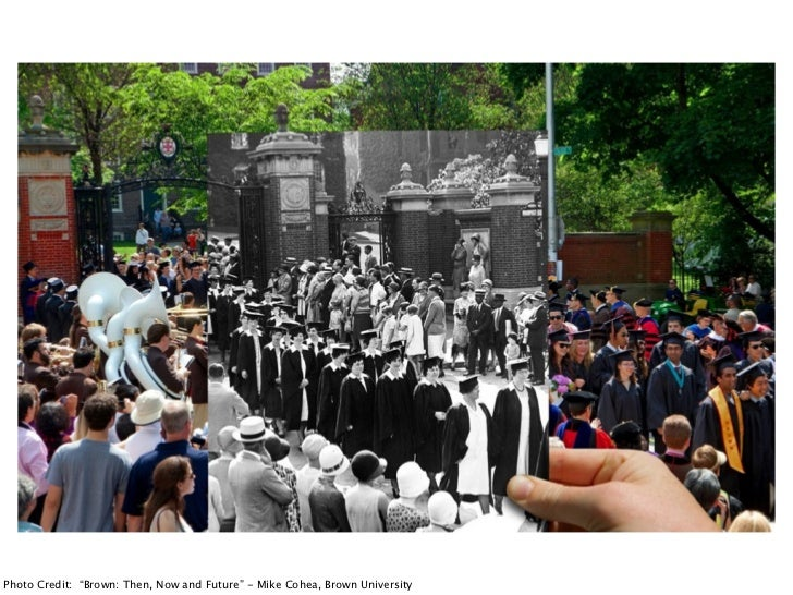 """Photo Credit: """"Brown: Then, Now and Future"""" - Mike Cohea, Brown University"""