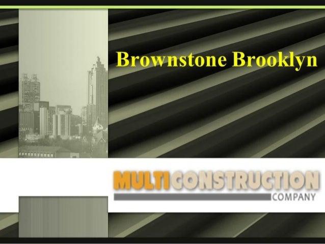 Brownstone brooklyn