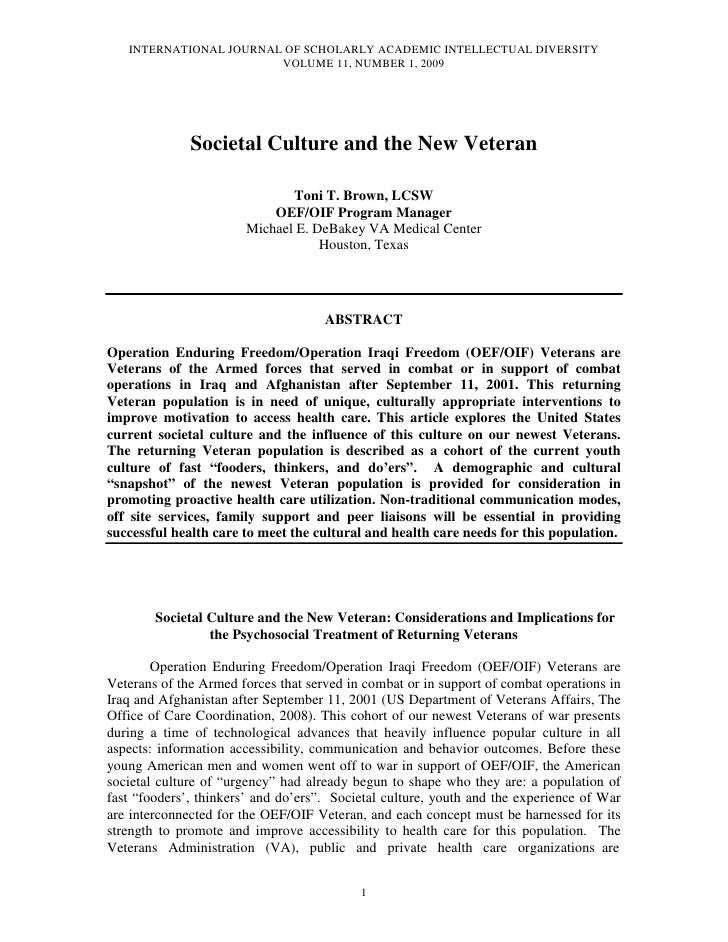 INTERNATIONAL JOURNAL OF SCHOLARLY ACADEMIC INTELLECTUAL DIVERSITY                         VOLUME 11, NUMBER 1, 2009      ...